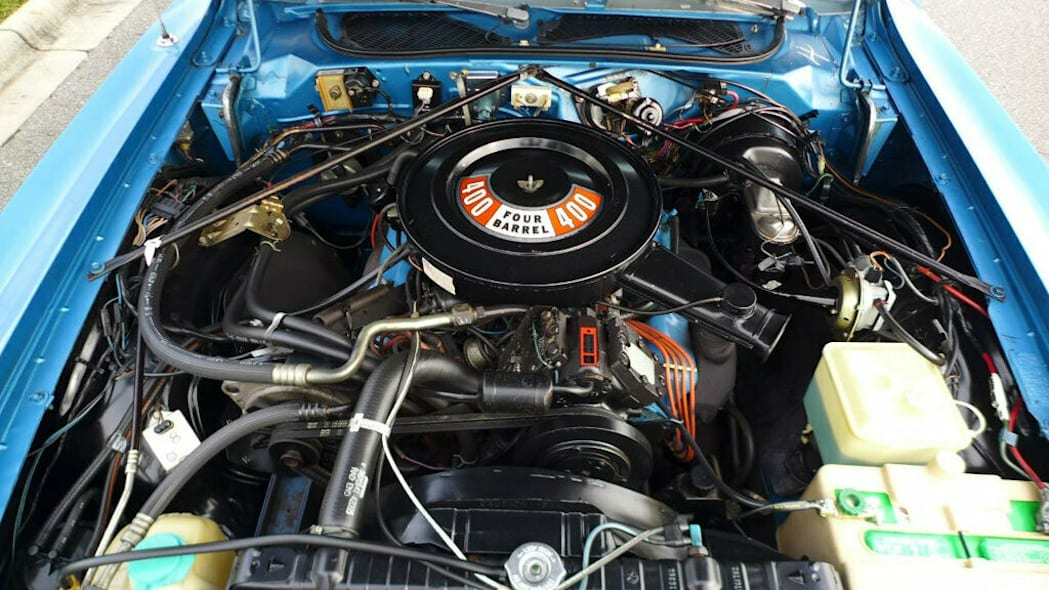 1975 Dodge Charger Daytona engine