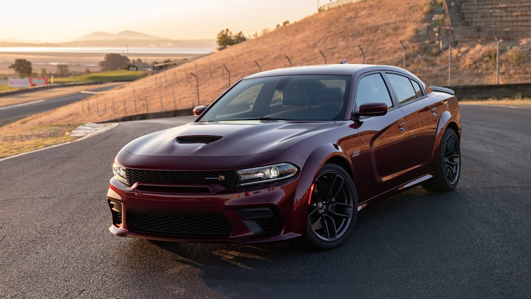 The Dodge Charger Scat Pack Widebody is powered by the 392-cubic