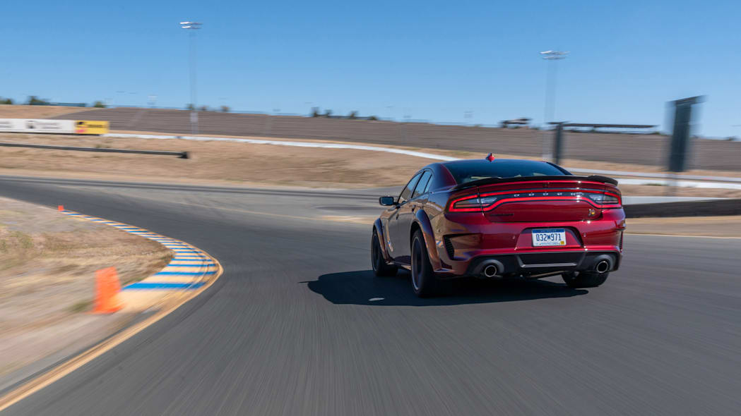 The 2020 Dodge Charger Scat Pack Widebody runs 0-60 mph in 4.3 s