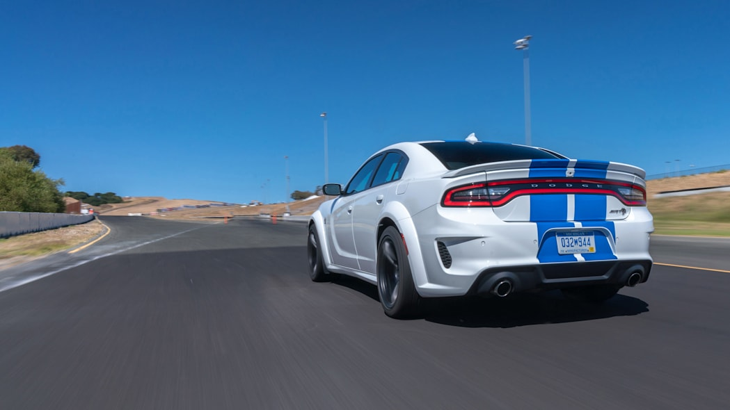 The 2020 Charger SRT Hellcat Widebody runs 0-60 mph in 3.6 secon
