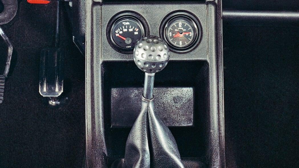 1976 VW GTI interior