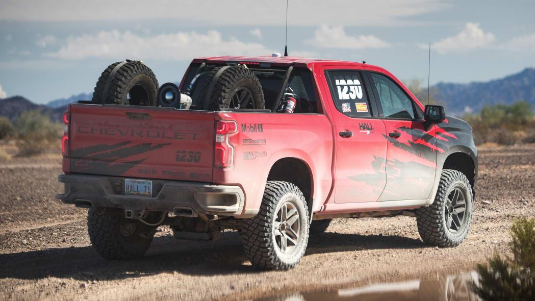 Chevy Silverado race truck