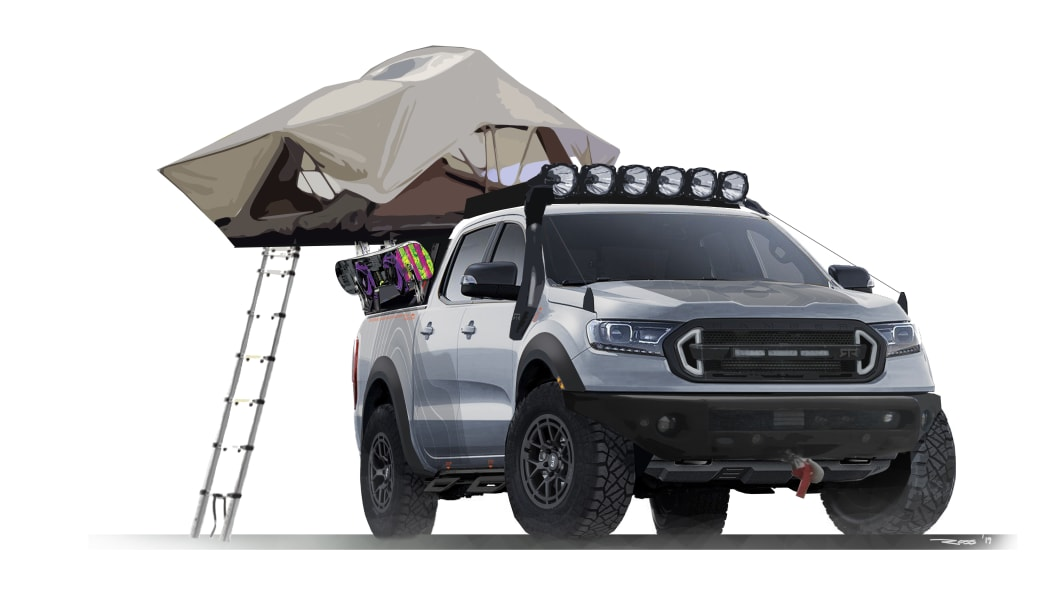 2019 Ford SEMA builds feature offroad-ready Rangers and wild Transit Vans