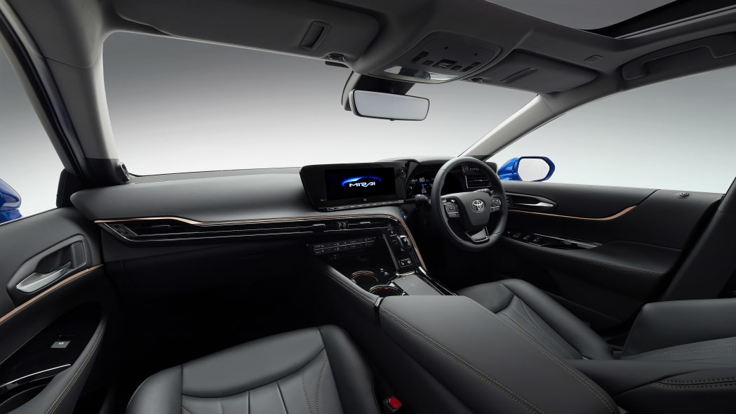 Toyota Mirai concept interior