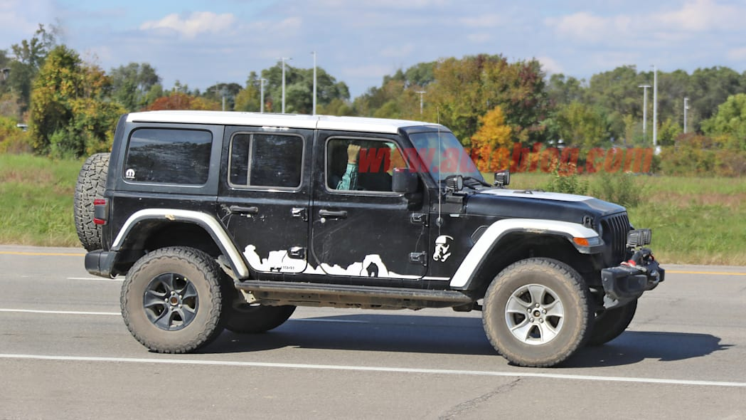 Jeep Wrangler Stormtrooper prototype