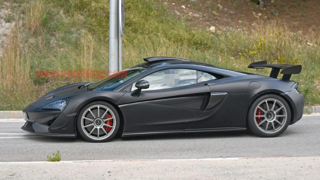 McLaren 620R prototype