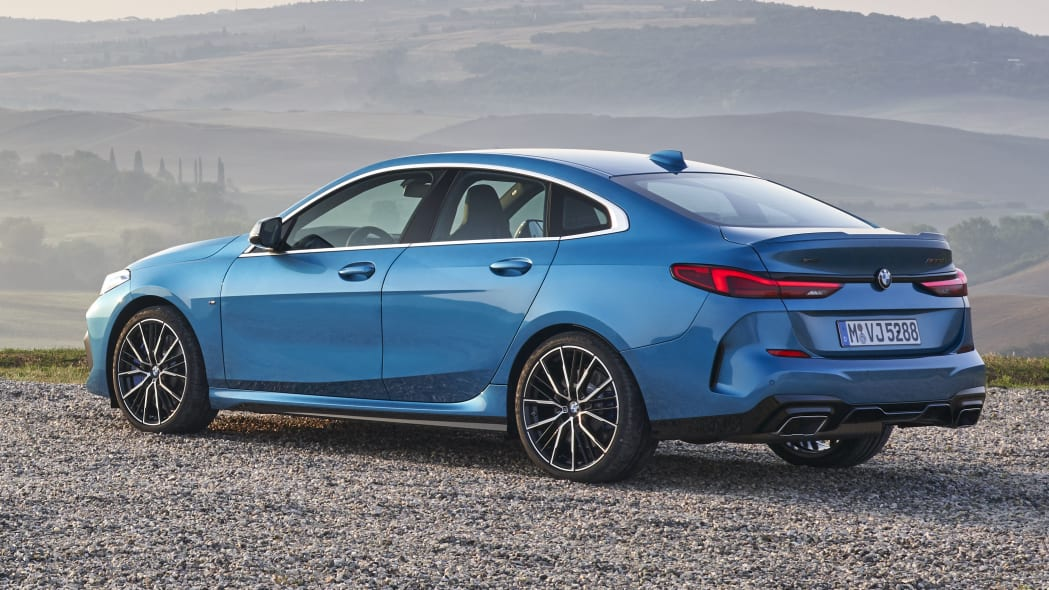 2020 BMW M235i xDrive Gran Coupe in blue