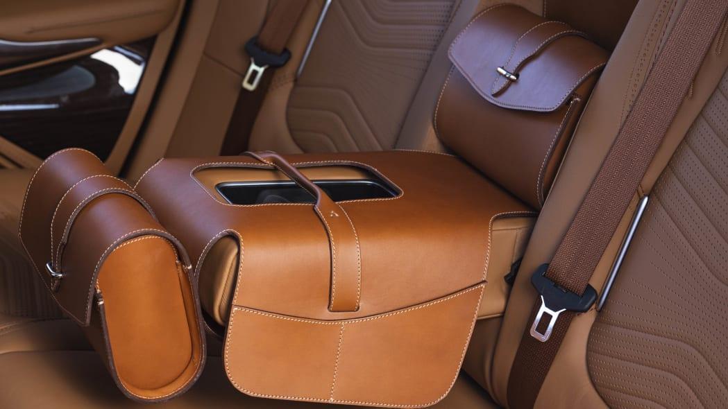 2020 Aston Martin DBX saddle bag