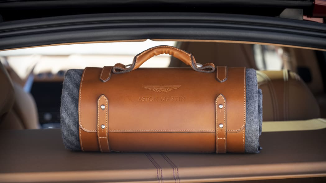 2020 Aston Martin DBX picnic blanket
