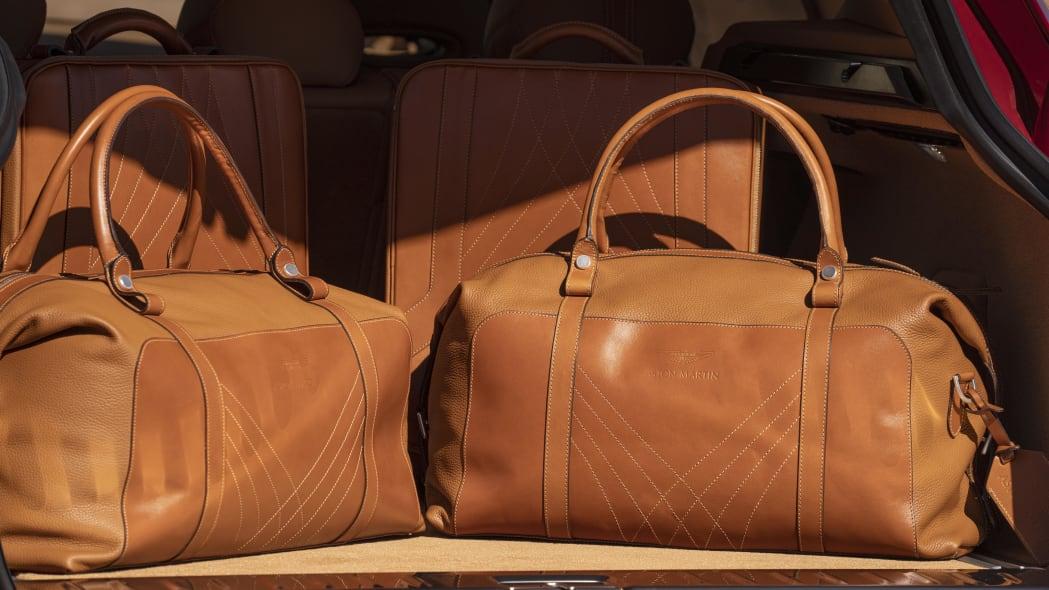 2020 Aston Martin DBX custom luggage