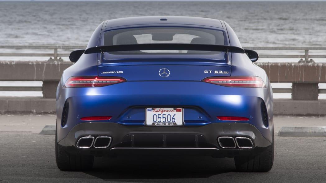 2019 Mercedes-AMG GT 63 S 4-Door in blue