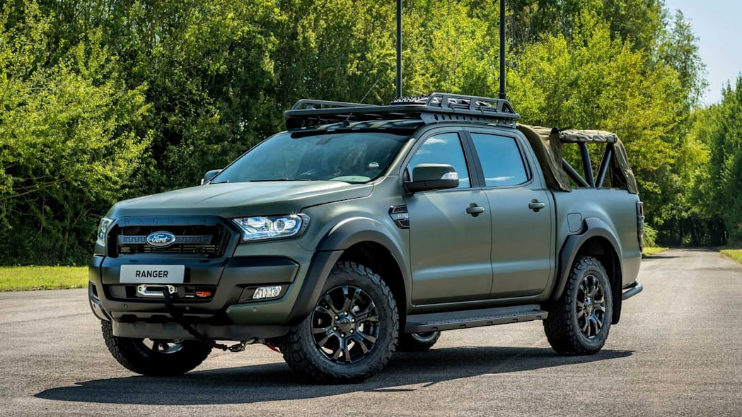 Ricardo Ford Ranger GPV Demonstrator