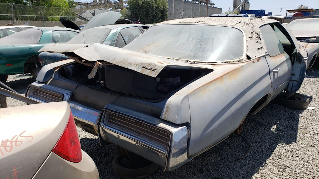 49 - 1973 Buick LeSabre in California wrecking yard - photo by Murilee Martin
