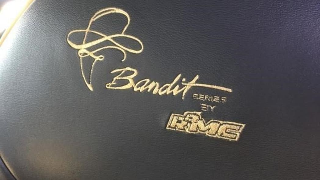 BR seat embroidery