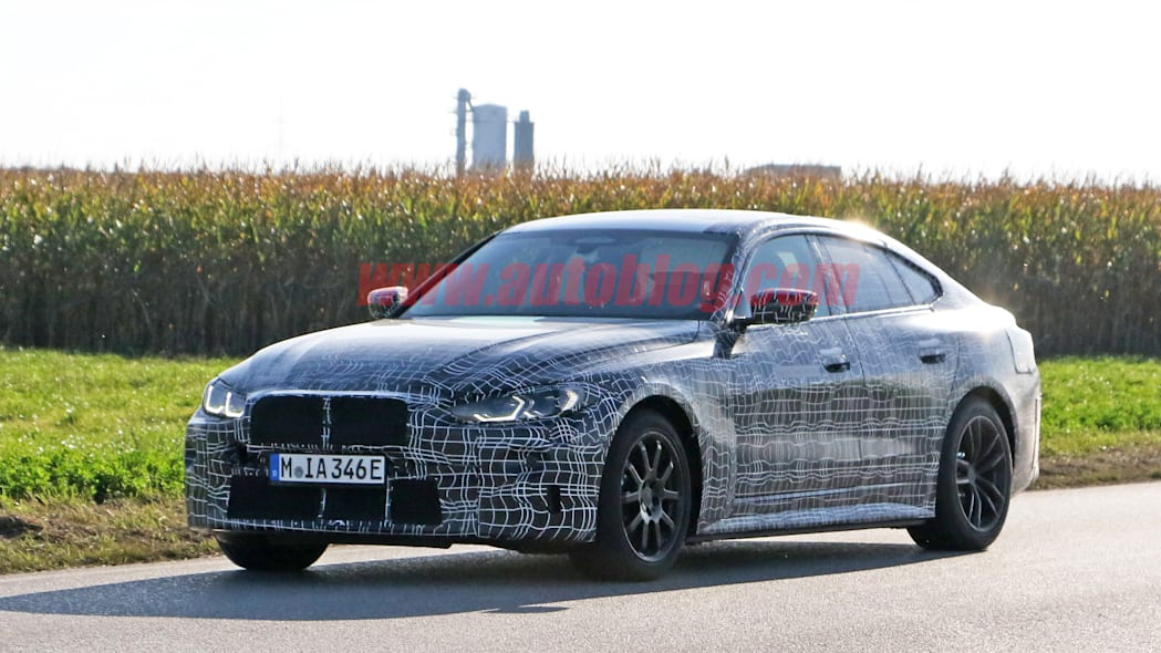 Electric BMW i4 spied looking closer to production ready