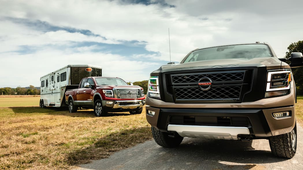 2020 Nissan Titan XD breaks cover with more tech, new styling. fewer configurations
