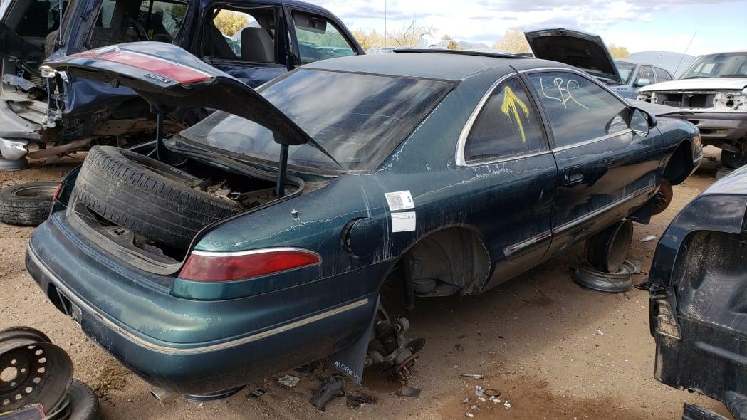30 - 95 Lincoln Mark VIII in Colorado junkyard - photo by Murilee Martin