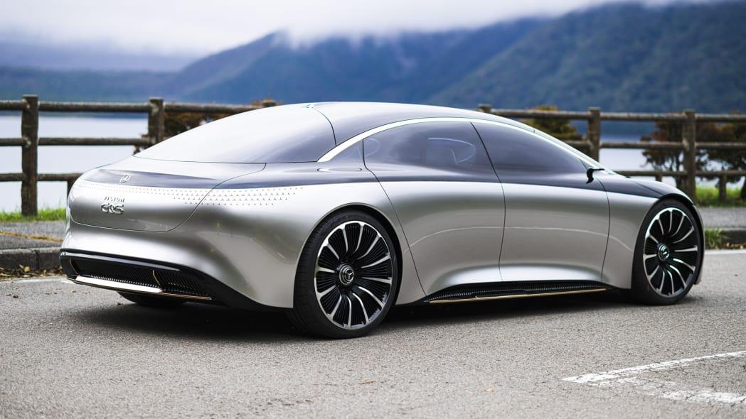 Mercedes-Benz EQS Concept in Tokyo