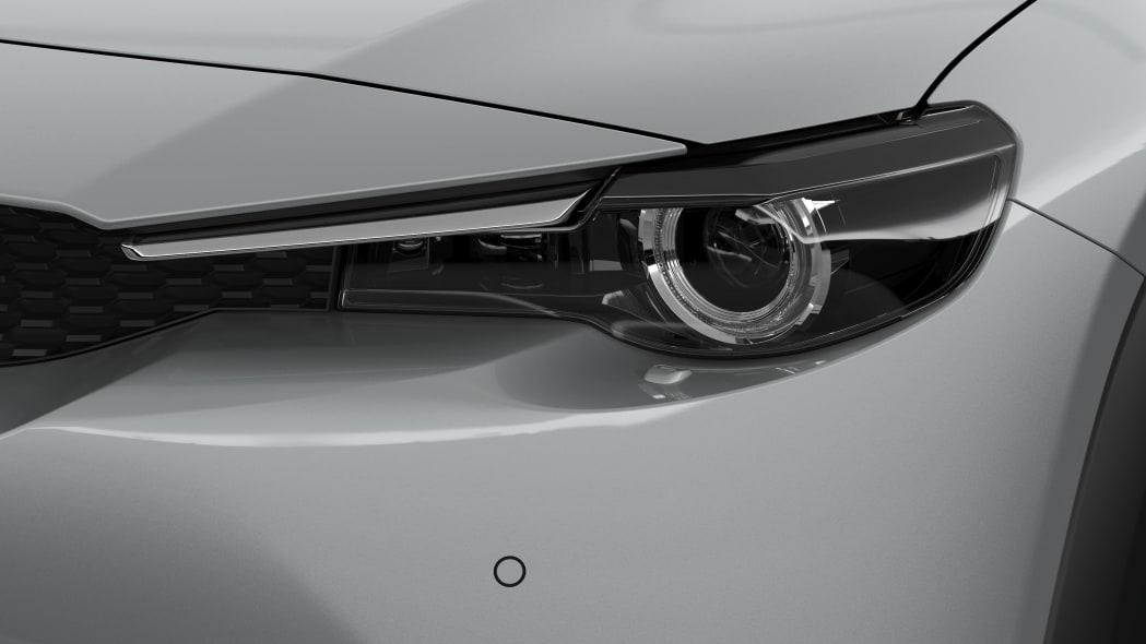 Mazda MX-30 in white