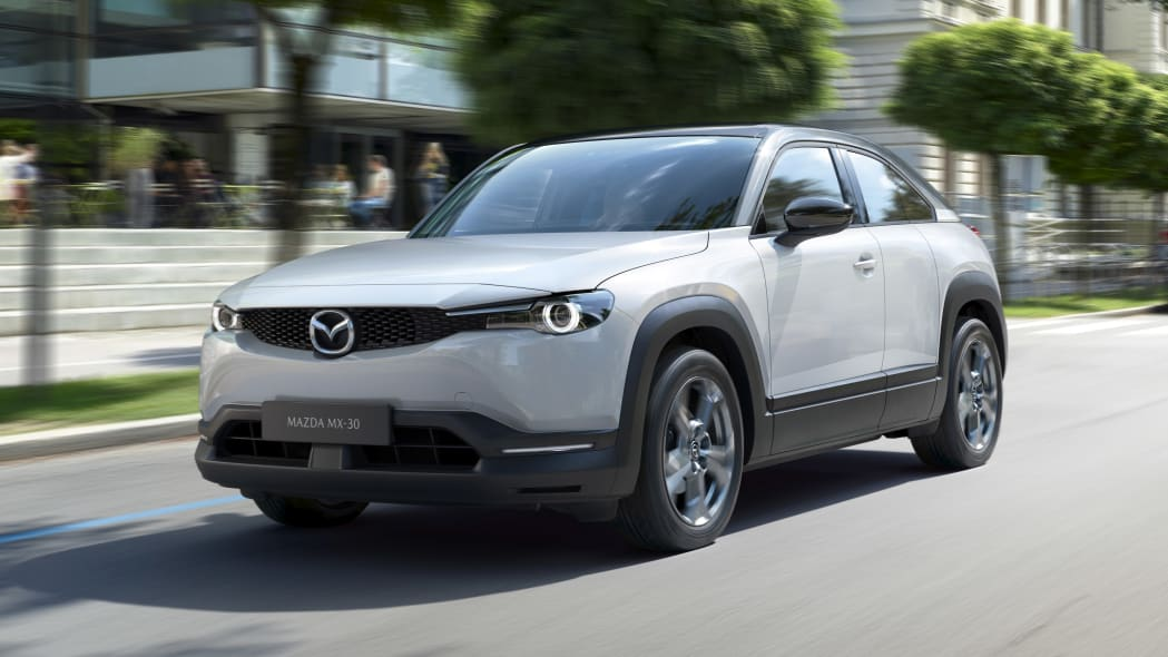 Mazda MX-30 crossover is brand's first EV, with sporty, coupe-like looks