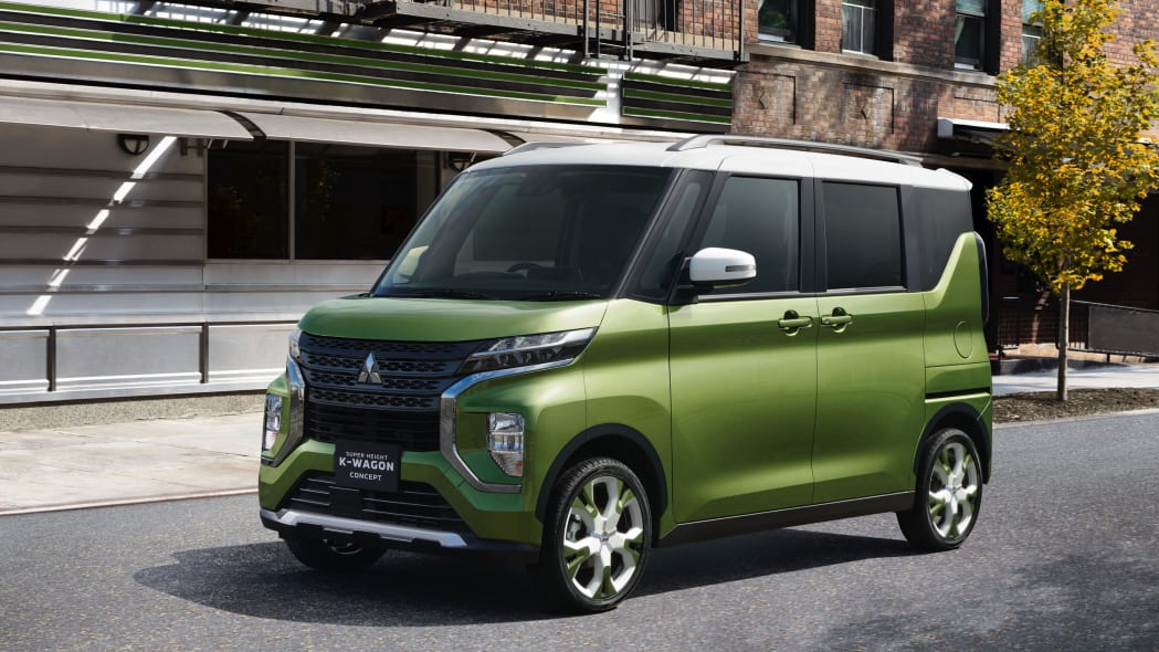 Mitsubishi Motors Corporations unveils the SUPER HEIGHT K-WAGON