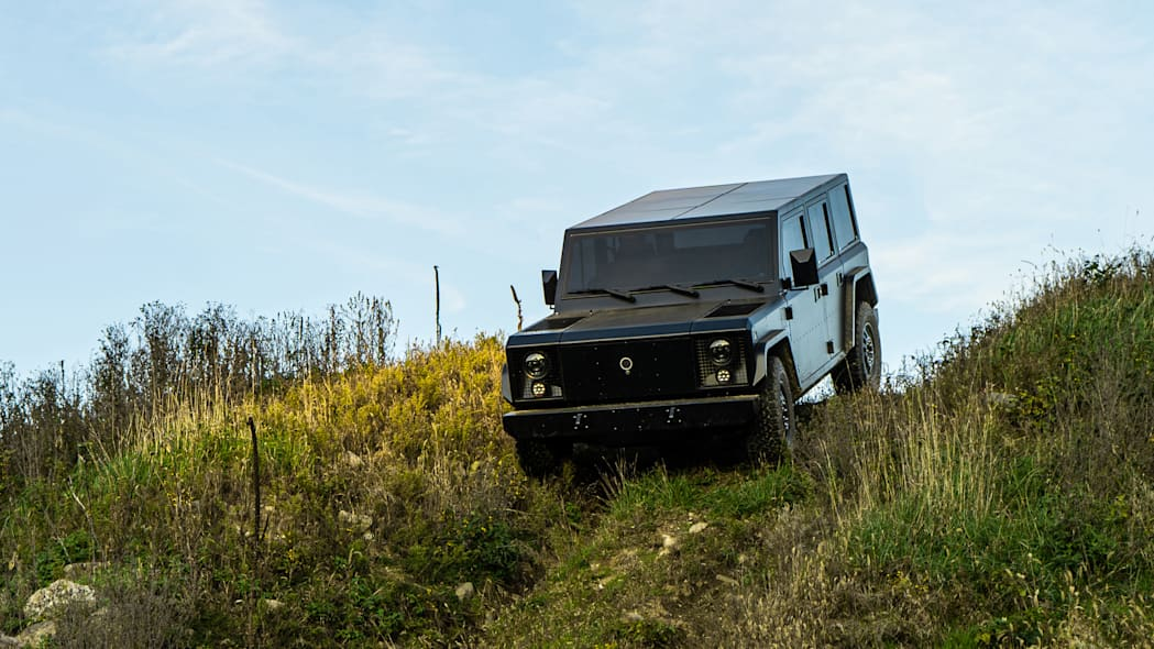 Bollinger Motors B1 3-4 hill outdoors