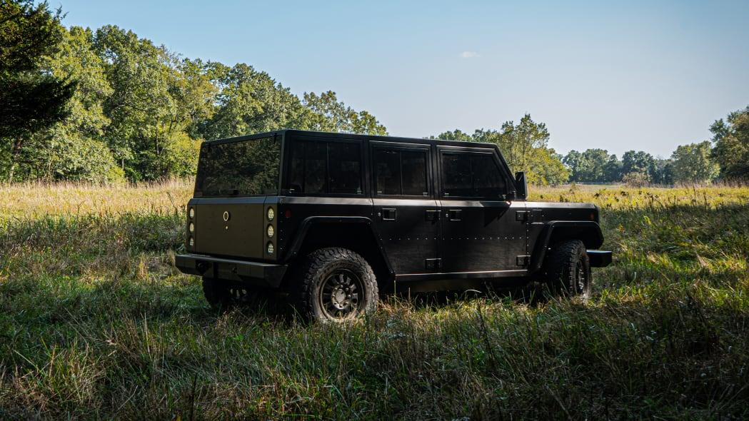 Bollinger Motors B1 3-4 rear outdoors
