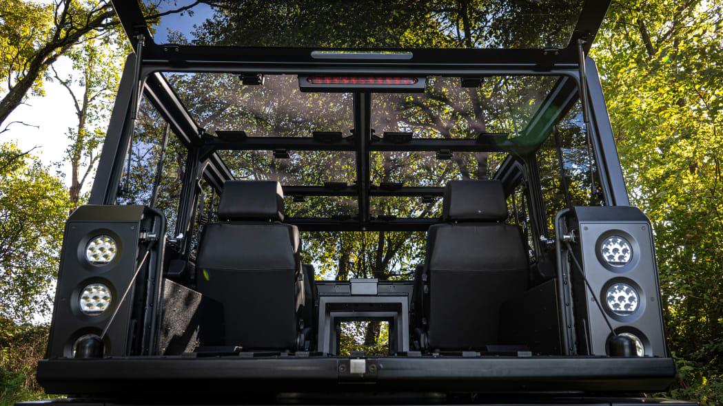 Bollinger Motors B1 glass roof outdoors