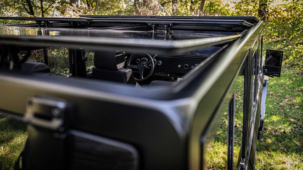 Bollinger Motors B1 glass roof top outdoors
