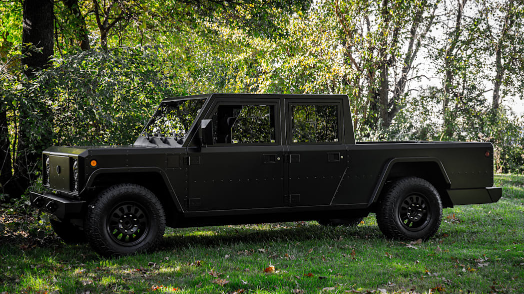 Bollinger Motors B2 side outdoors