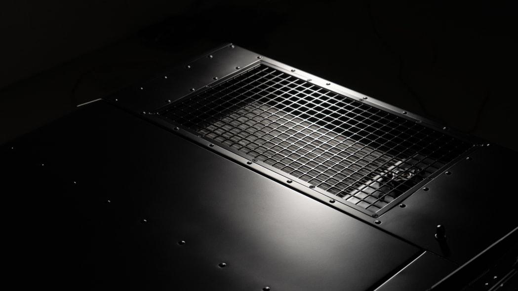 Bollinger Motors grill detail studio