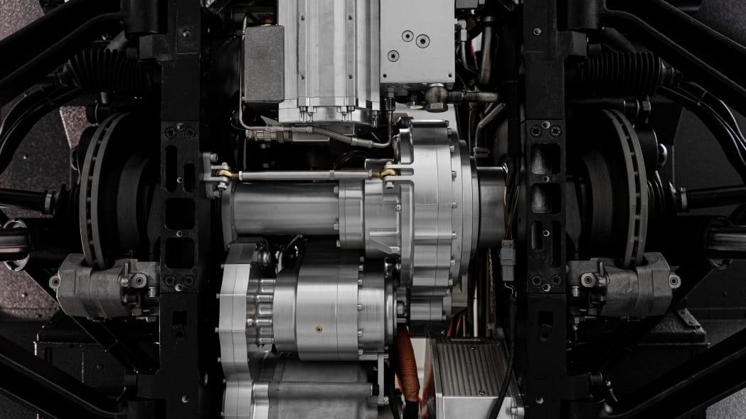 Bollinger Motors powertrain studio