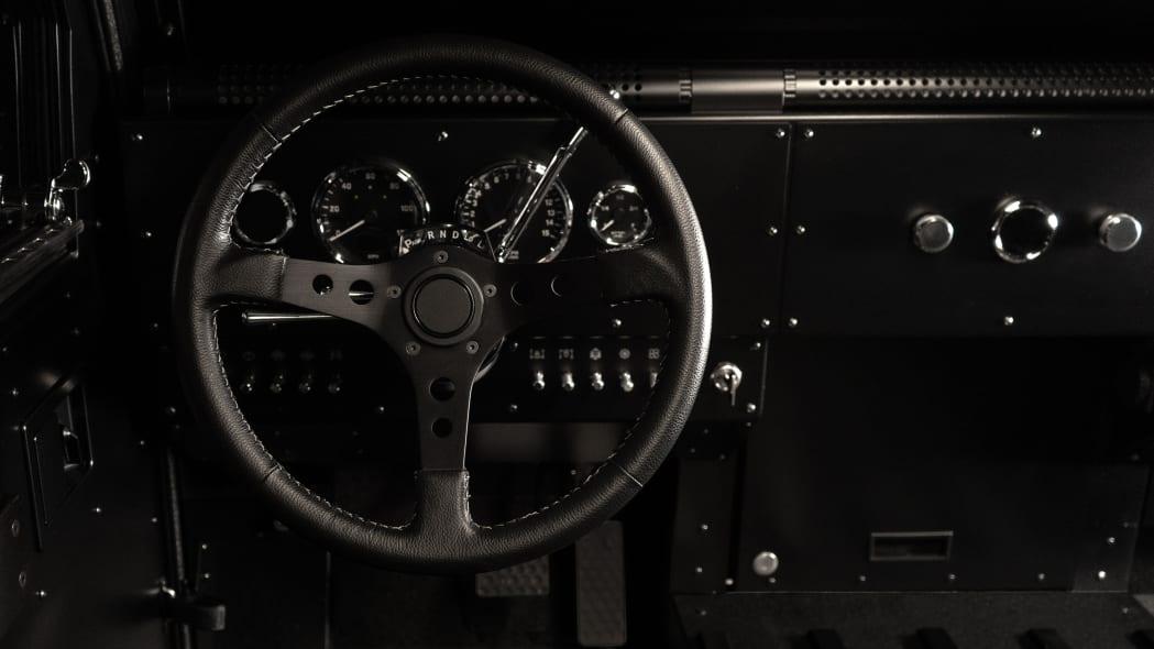 Bollinger Motors instrument panel studio