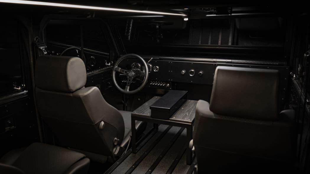 Bollinger Motors interior studio