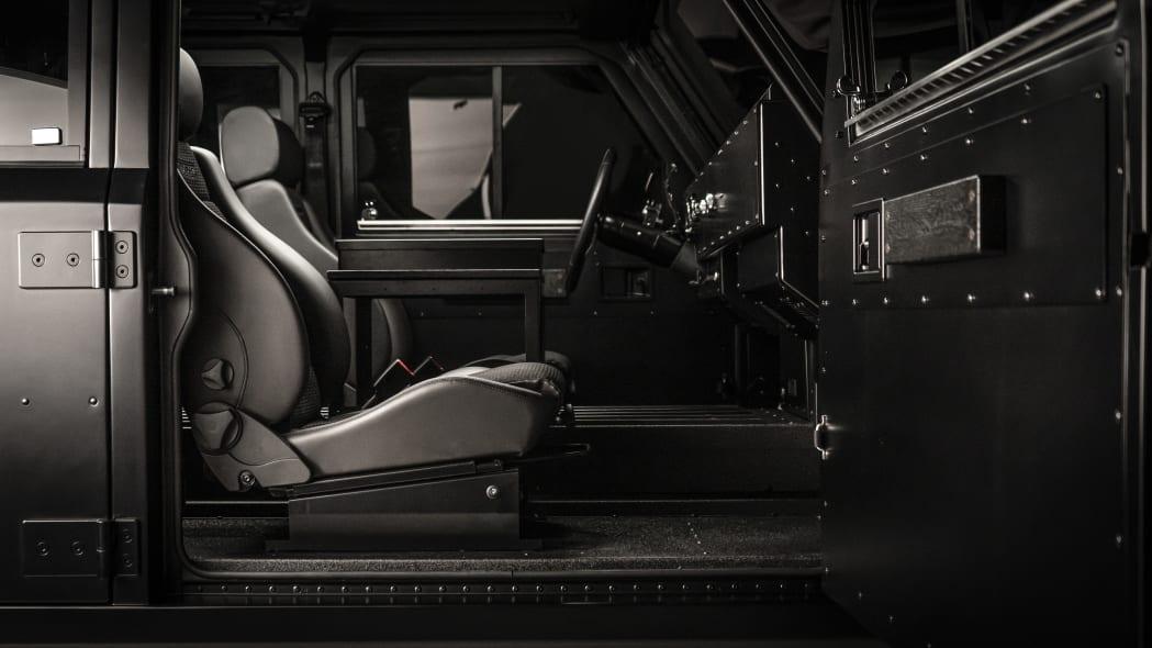 Bollinger Motors passenger side interior studio