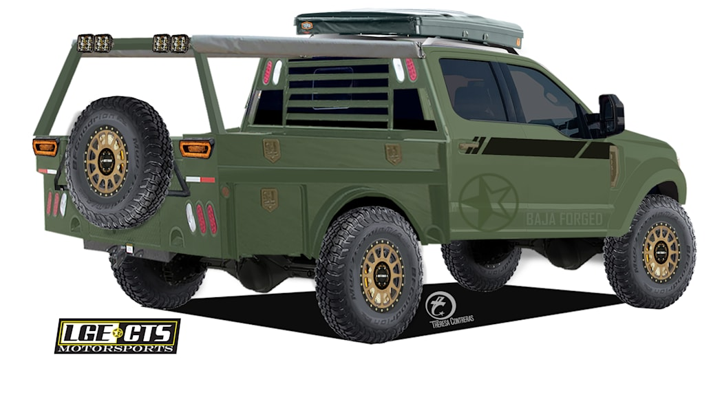 SEMA Ford Super Duty lineup