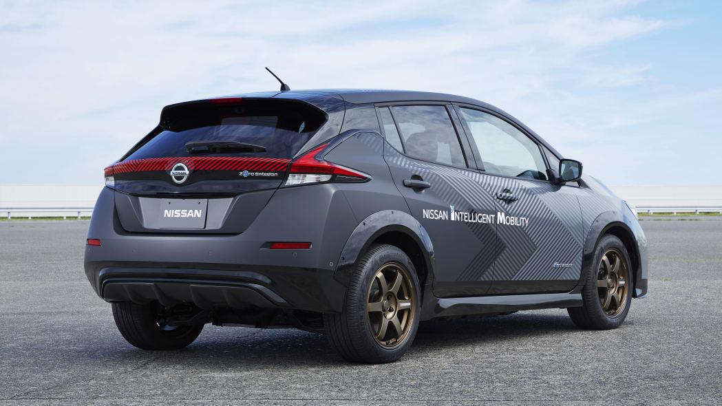 Nissan Leaf powertrain test car
