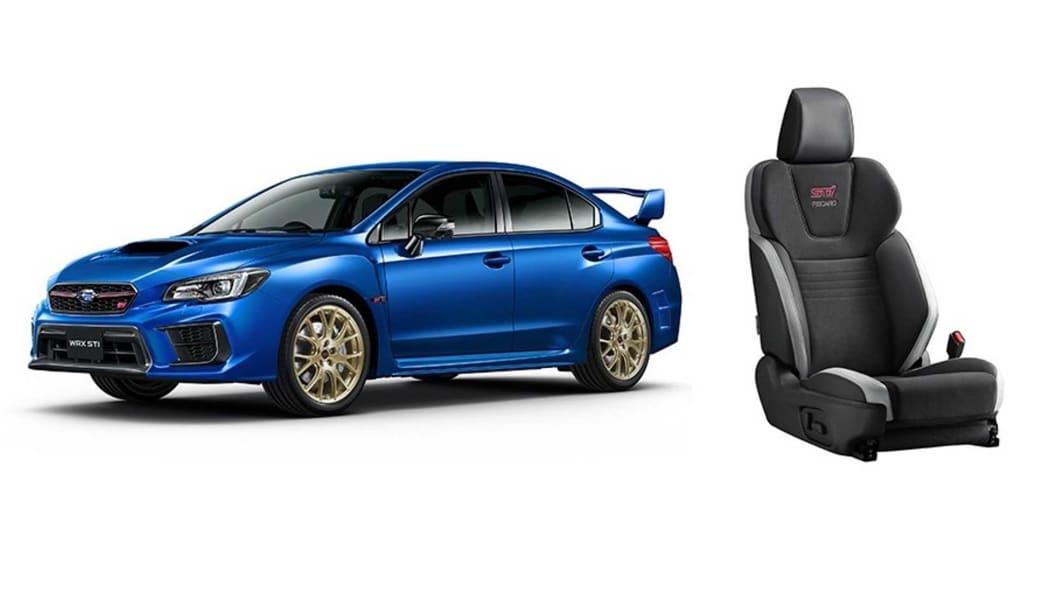 Subaru WRX STI EJ20 Final Edition