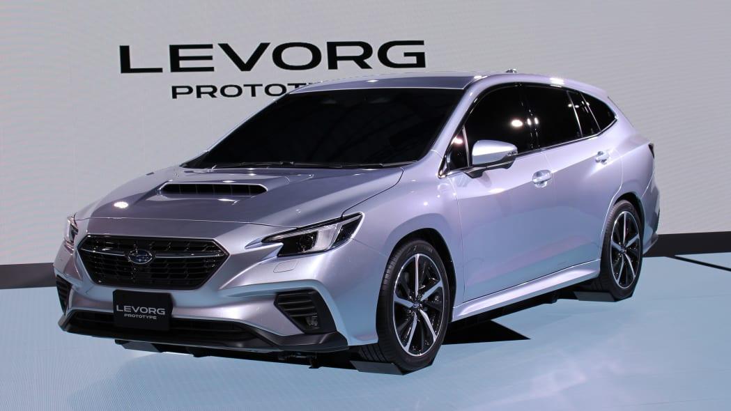 Fourth Place (tie): Subaru Levorg — 21 points
