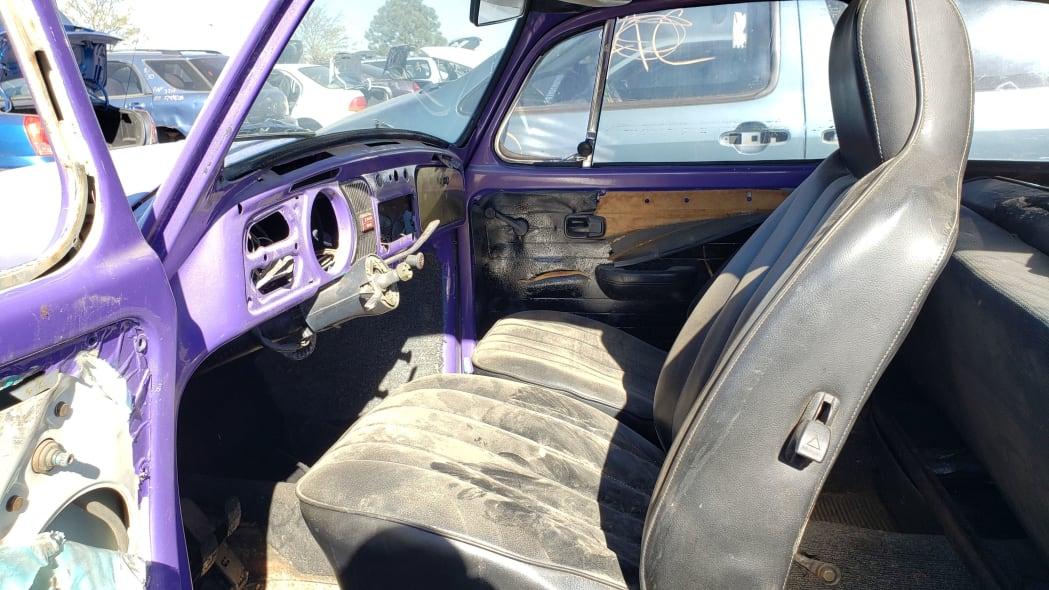 05 - 1974 Volkswagen Beetle in Colorado junkyard - photo by Murilee Martin