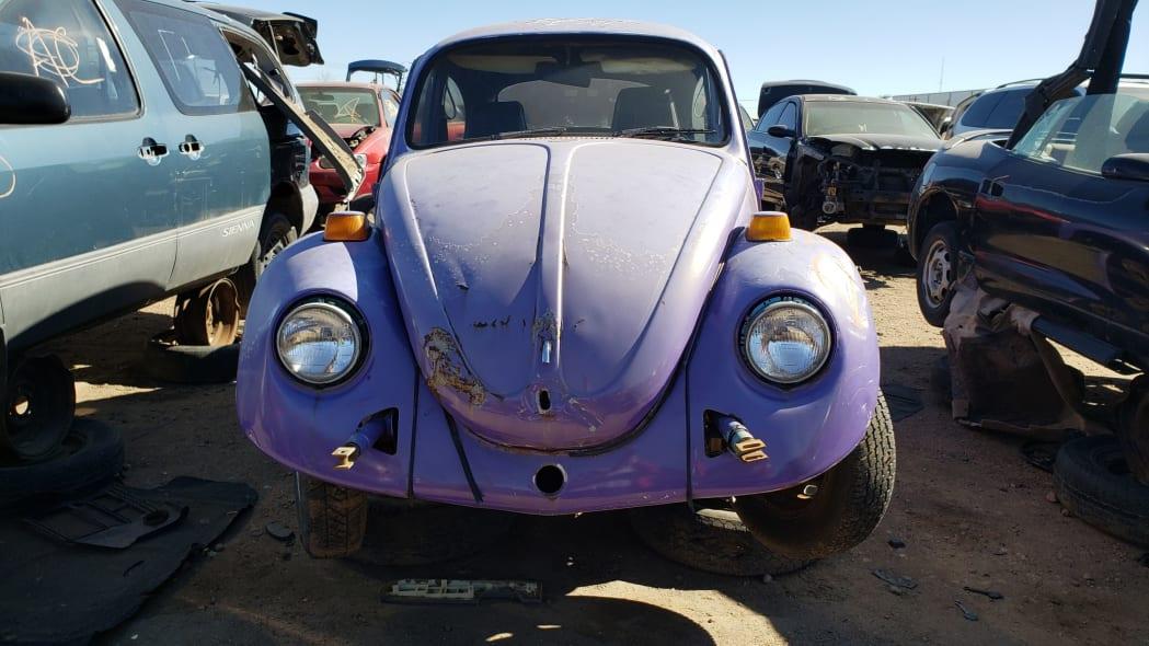 11 - 1974 Volkswagen Beetle in Colorado junkyard - photo by Murilee Martin