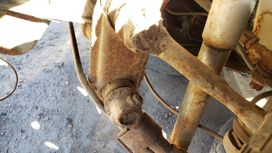 14 - 1974 Volkswagen Beetle in Colorado junkyard - photo by Murilee Martin