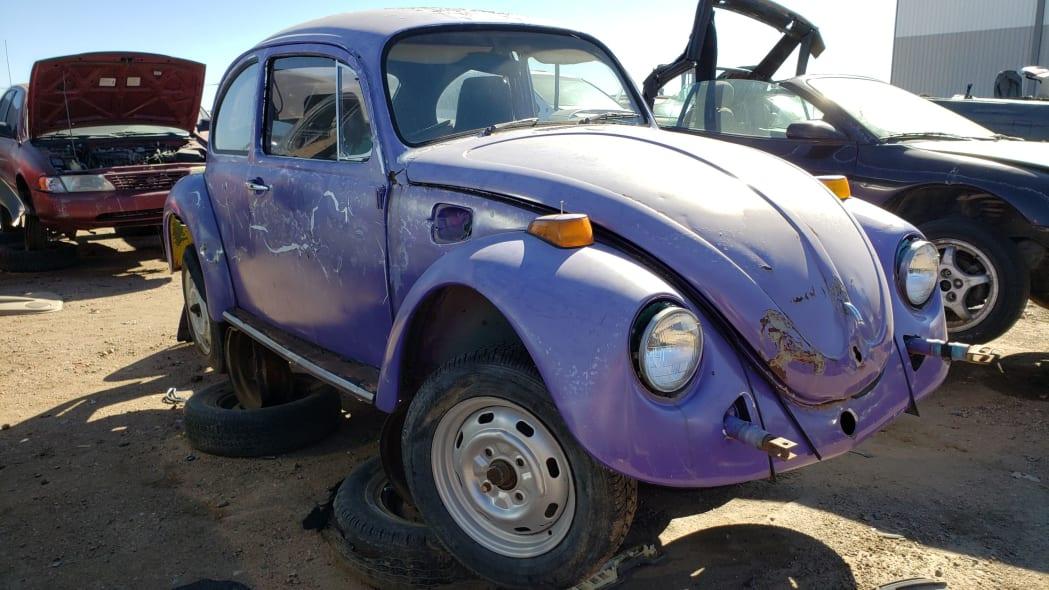 17 - 1974 Volkswagen Beetle in Colorado junkyard - photo by Murilee Martin