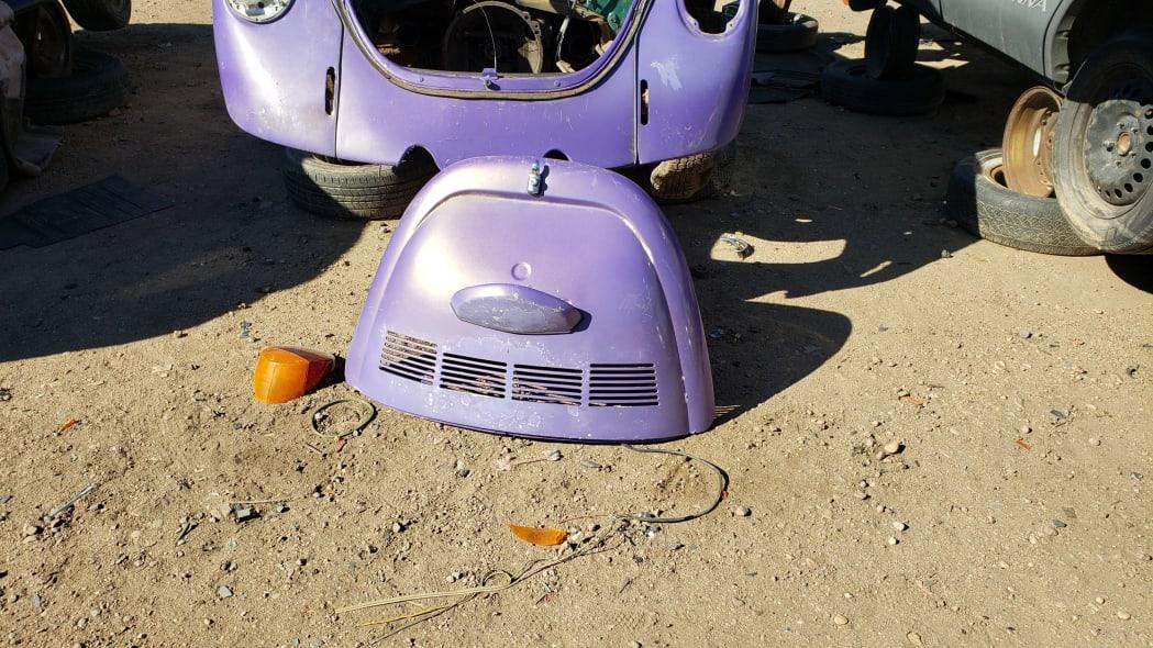 24 - 1974 Volkswagen Beetle in Colorado junkyard - photo by Murilee Martin