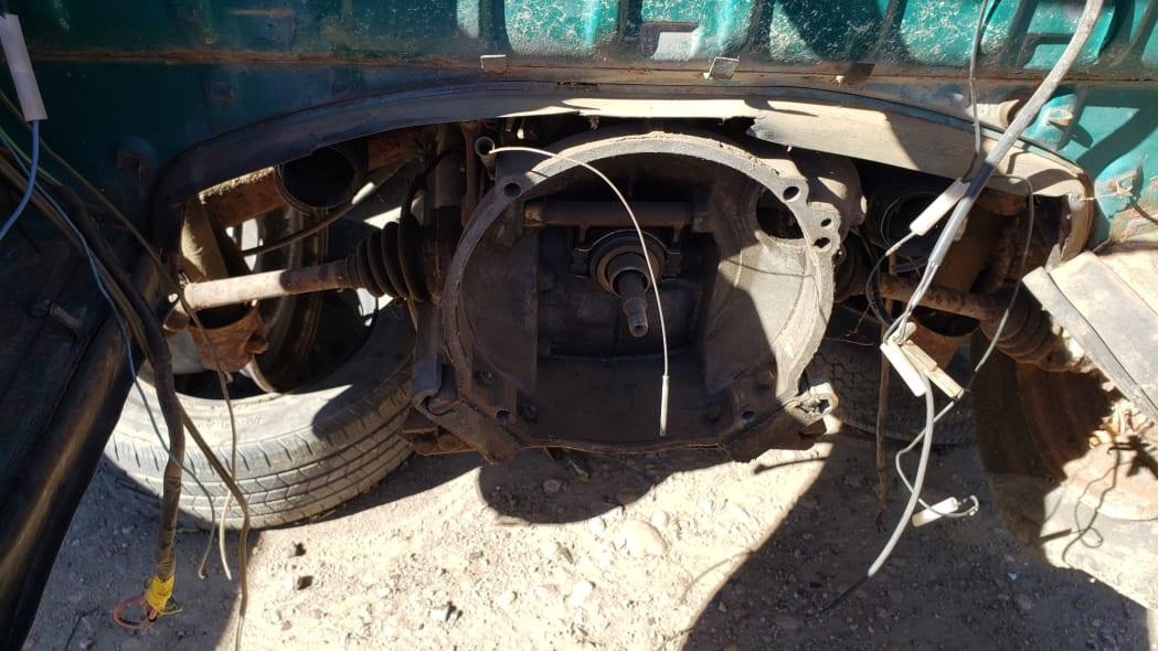 27 - 1974 Volkswagen Beetle in Colorado junkyard - photo by Murilee Martin
