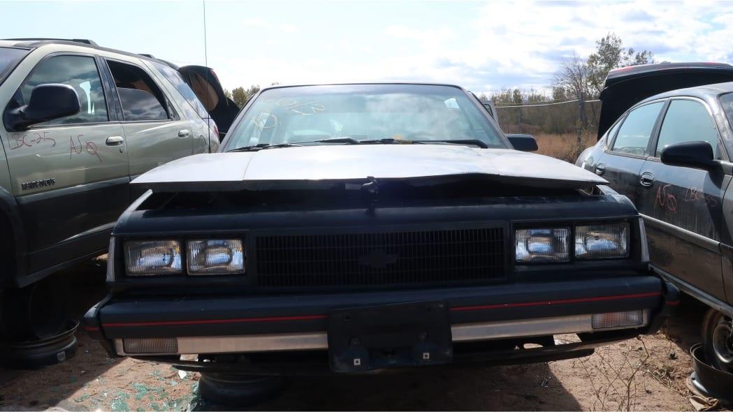 33 - 1986 Chevrolet Celebrity Eurosport in Colorado junkyard - photo by Murilee Martin