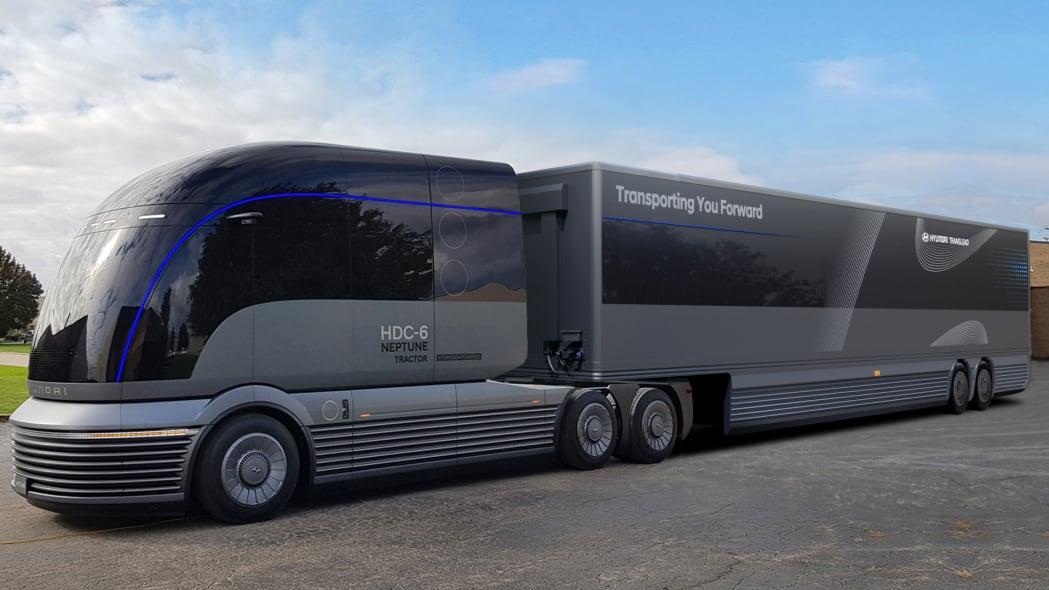 Hyundai HDC-6 Neptune hydrogen semi-truck concept