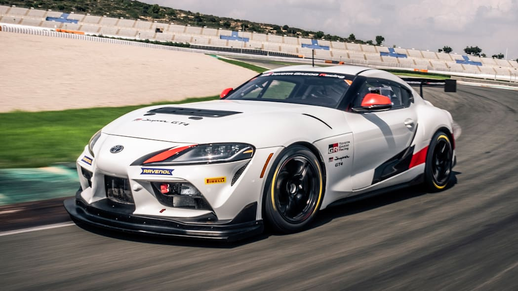 2020 Toyota Supra GT4 race car