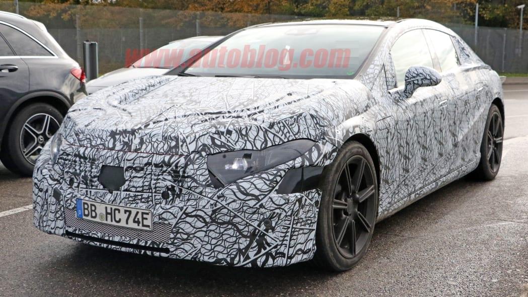 Mercedes-Benz EQS prototype