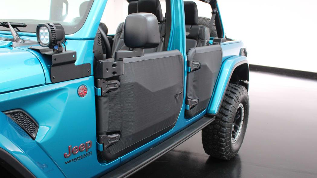 Mopar-accessorized 2020 Jeep Wrangler Unlimited